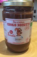 Choko noisette sans palme - Produto