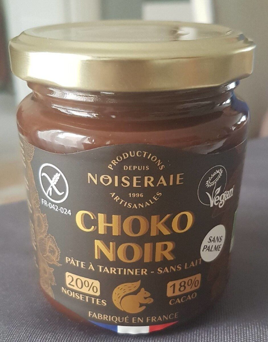 Pâte à tartiner Choko Noir - Produit - fr
