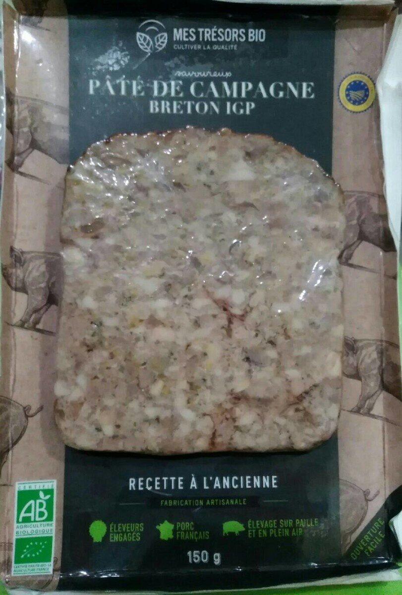 Pâté de campagne Breton IGP - Produit