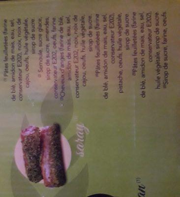 KADAIF - Ingredients
