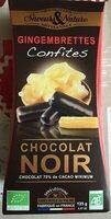 Gingembrettes confites chocolat noir - Prodotto - fr
