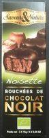 Noisette - Bouchées de Chocolat Noir - Produit - fr