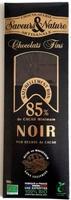 Chocolats Fins 85% Noir - Produit - fr