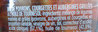 Melange de legumes grilles - Ingrédients - fr