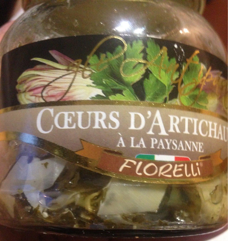 Coeurs d'artichauts à la paysanne - Produit - fr