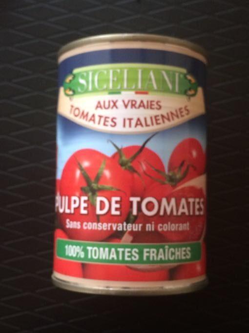 Pulpe de tomate fraiche - Product - fr