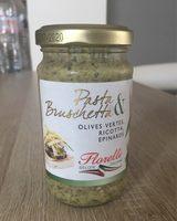 Pasta & Bruschetta Olives Vertes, Ricotta, Epinards - Product