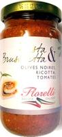 Pasta & Bruschetta Olives Noires, Ricotta, Tomates - Product - fr
