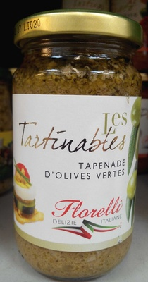 Les Tartinables Tapenade d'Olives Vertes - Product