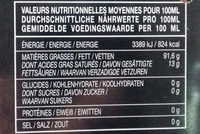 Huile d'Olive Vierge Extra DOP VAL DI MAZARA SICILIA - Nährwertangaben - fr