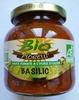 Sauce tomate à l'huile d'olive Basilic bio - Produit