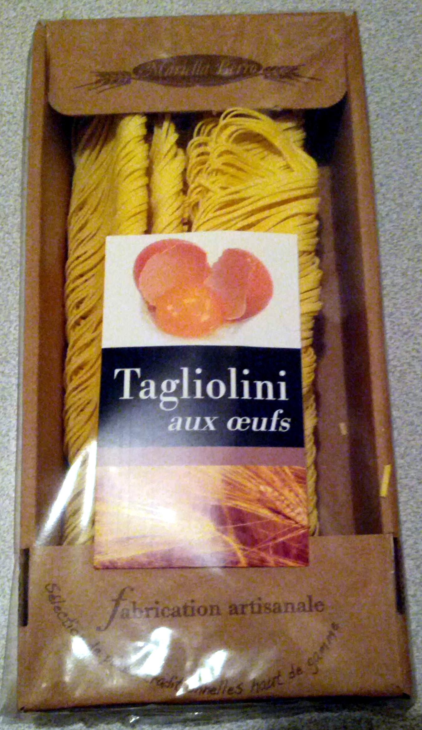 Tagliolini aux Œufs - Produit