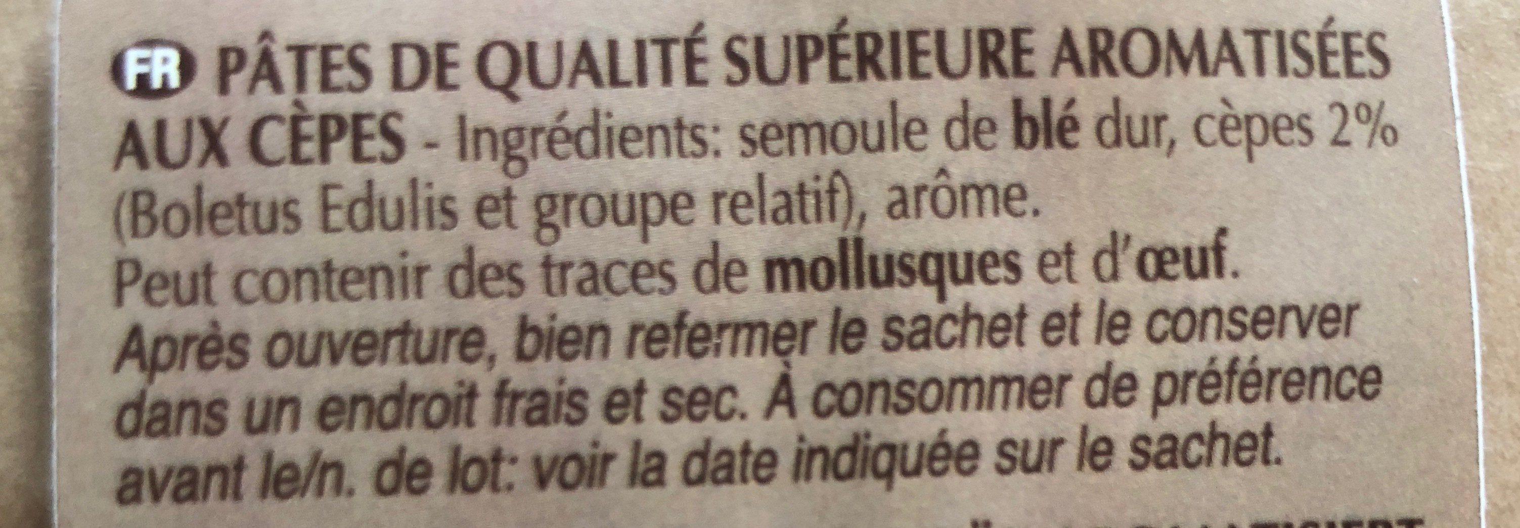 Tagliolini aux Œufs - Ingrédients