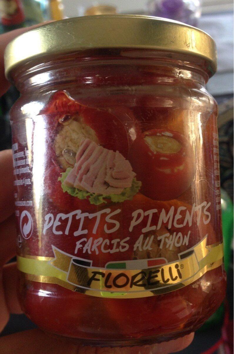 Petits piments farcis au thon, 110g - Produit - fr