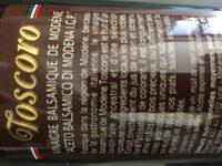 Vinaigre balsamique de Modène 500ml - Ingredienti - fr