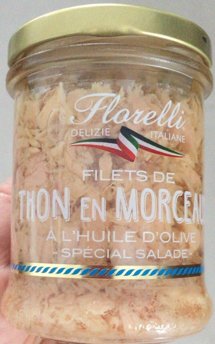 Filets de thon en morceaux a l huile d olive special salade - Prodotto - fr