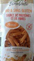 Pates aux lentilles rouges - Product - fr