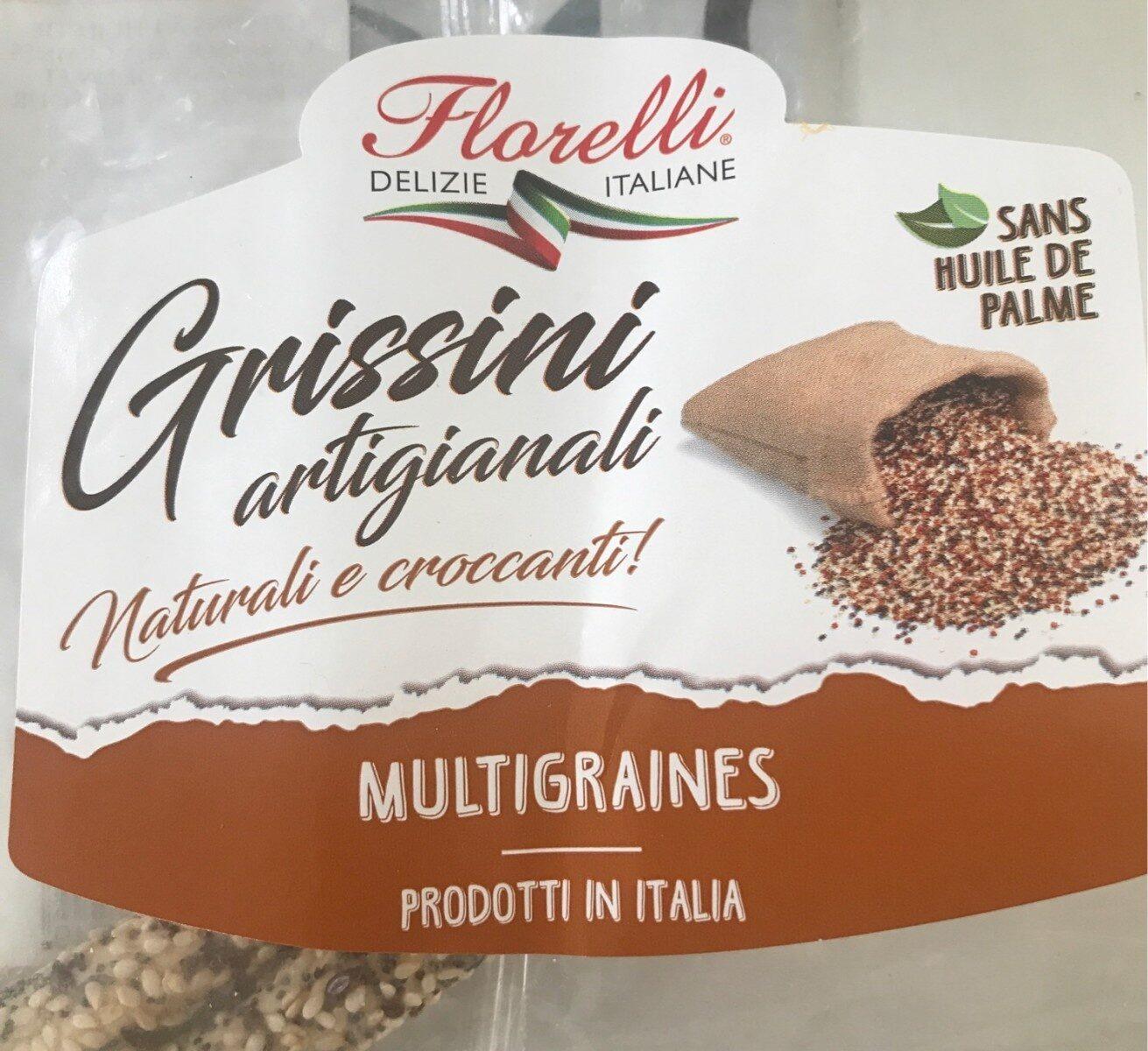 Grissini artigianali - Florelli Delizie Italiane - Multigraines - Product - fr