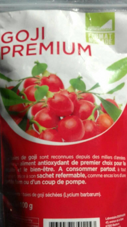 Goji premium - Produit