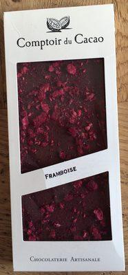 Comptoir du cacao- framboise - Product