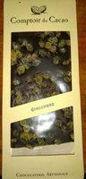 Tablette Noire gingembre - Produit - fr
