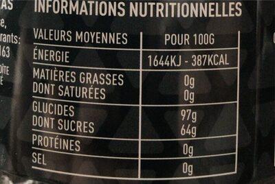 Berlingots de Carpentras Assortis - Informations nutritionnelles - fr
