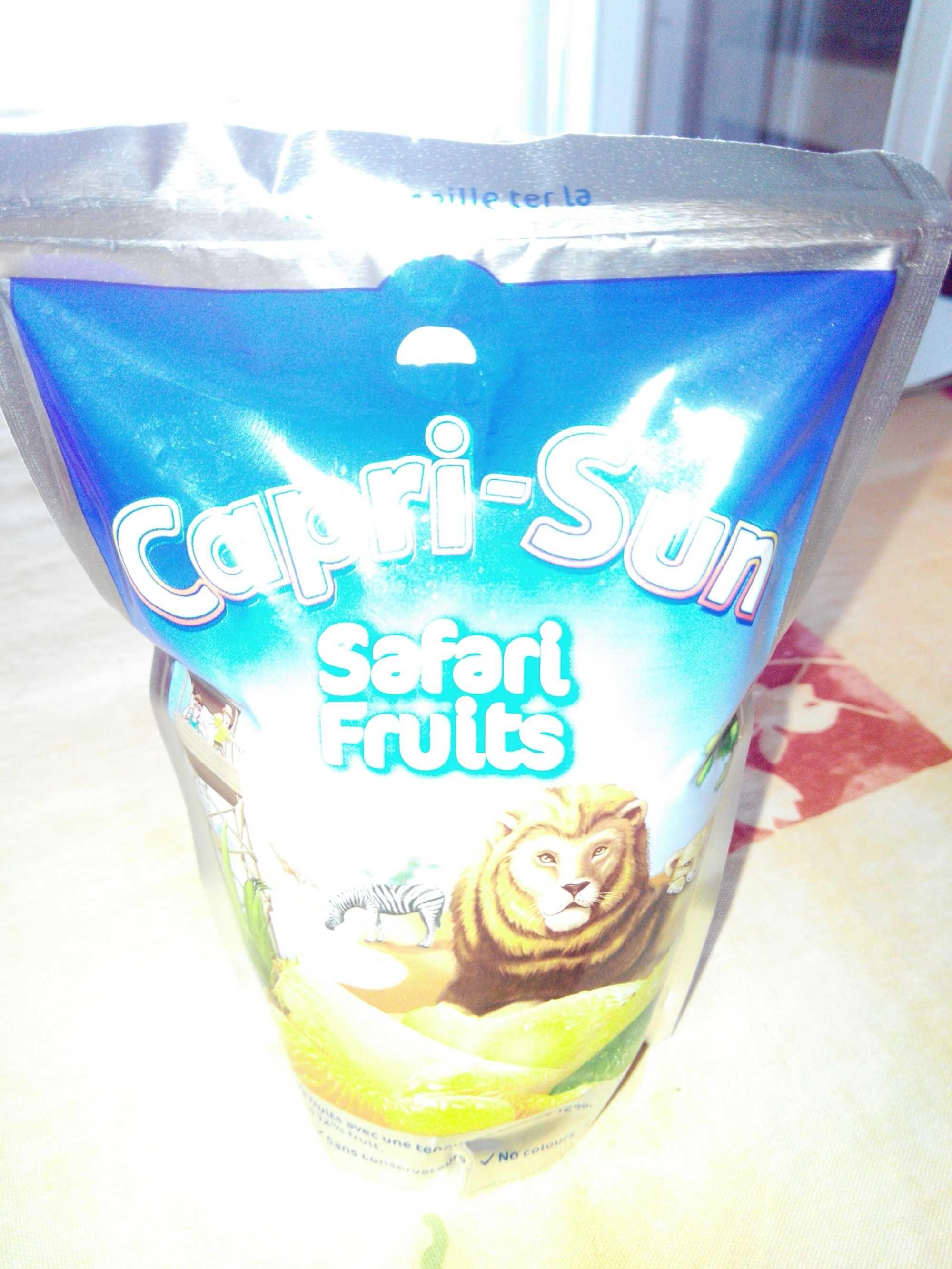 Capri-Sun Safari Fruits - Product