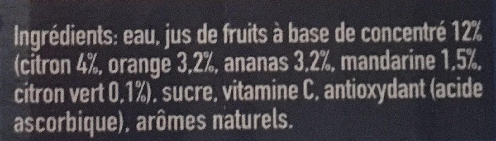 Capri-Sun Safari Fruits - Ingredients