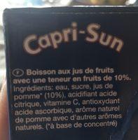 Capri-Sun Pomme - Ingredienti - fr