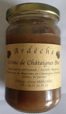 Crème de chataignes bio - Produit - fr