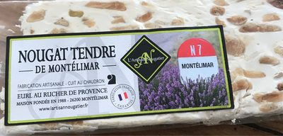 Nougat tendre de Montélimar - Produit