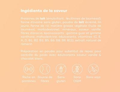 Vanille & chocolat blanc - Ingrediënten