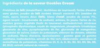 Berlingot Cookie & Cream - Ingrediënten - fr