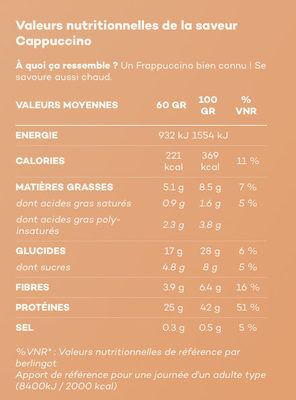 So shape - Cappuccino - Product - fr