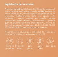 So shape - Cappuccino - Ingrediënten - fr