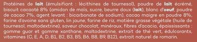 Smart Meal Brownie - Ingredients - fr