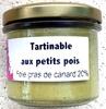 Tartinable aux Petits Pois - Foie Gras de Canard 20% - Produit