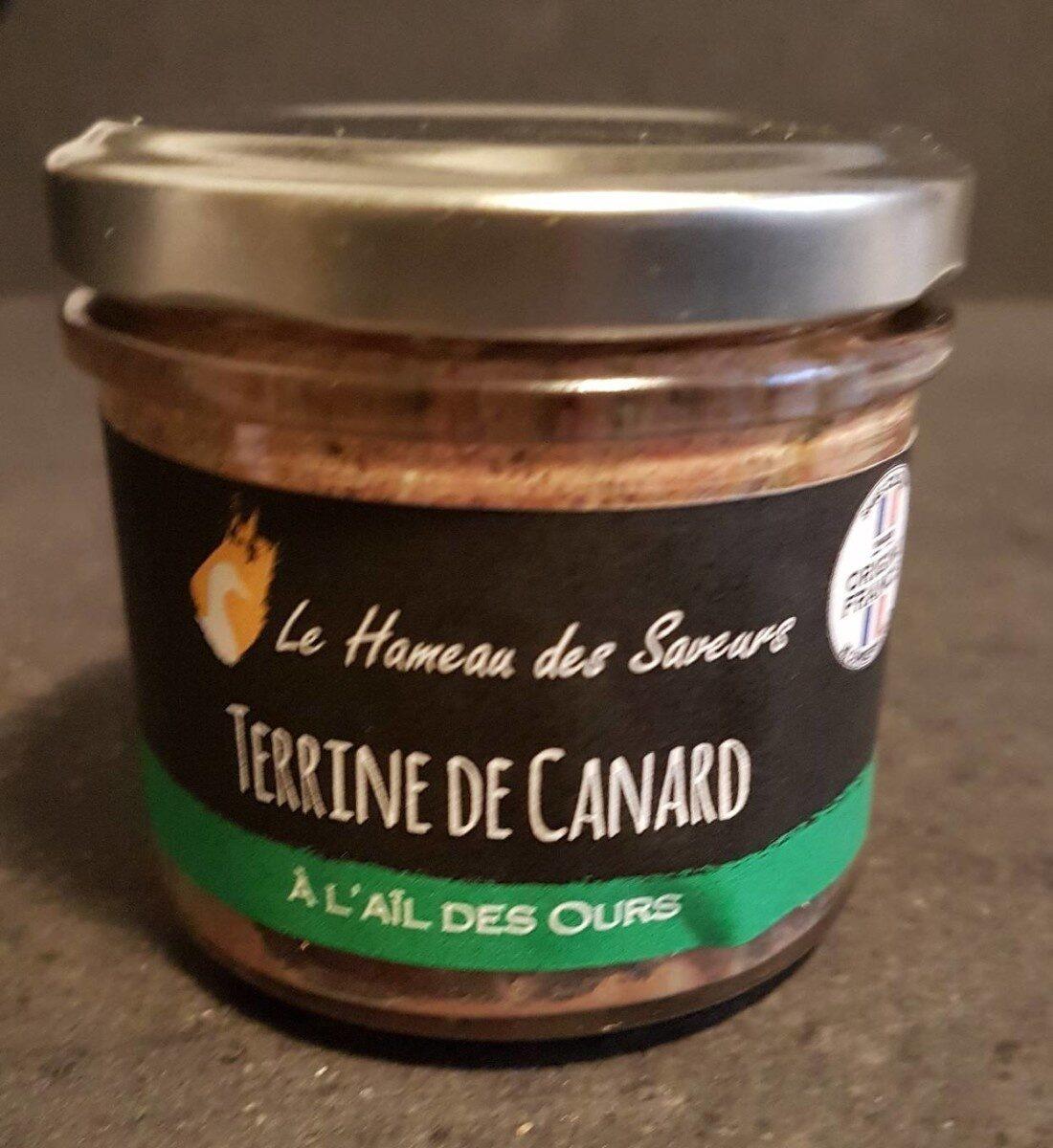 Terrine de Canard à l'Ail des Ours - Produit - fr