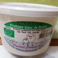 Fromage blanc de brebis - Product - fr