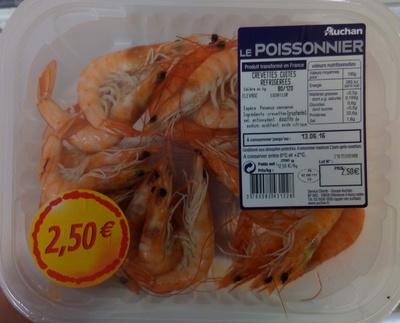 Crevettes cuites réfrigérées - Product - fr