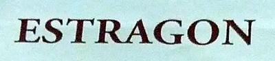 Estragon - Ingrédients - fr