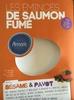Les émincés de saumon fumé sésame et pavot - Product