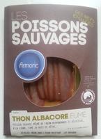 Les poissons sauvages Thon albacore fumé - Produit - fr