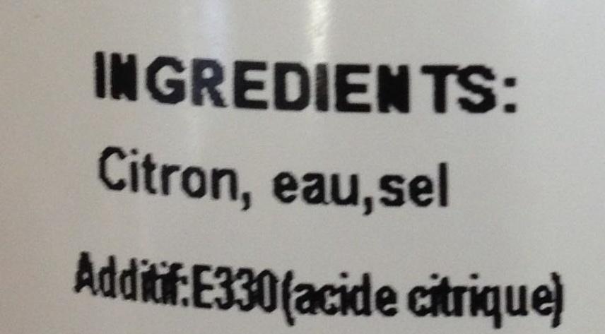 Citron confit barco poids brut 550g net gout e 280g - Acide citrique leclerc ...
