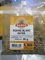 poivre blanc entier - Product - fr