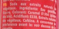 MeccaCola - Ingredienti - fr