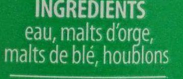 Tempête du Désert - Ingrédients - fr