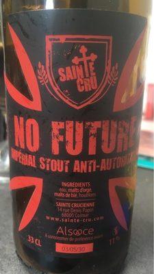 No Future - Product - fr