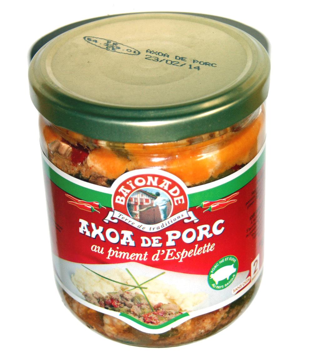 Axoa de porc au piment d'espelette - Produit