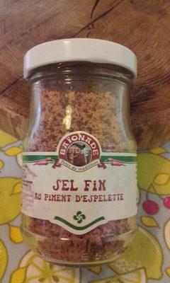 Sel fin au piment d'Espelette - Produit